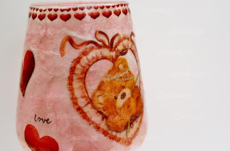 Kieliszek-Walentynkowy